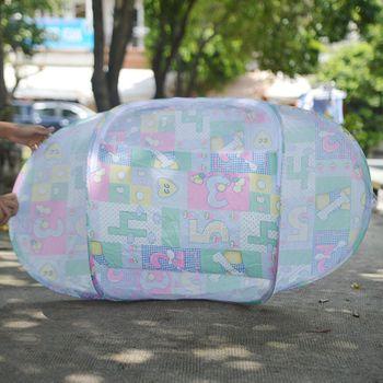 Mùng chụp chống muỗi cho bé (không nệm lót)