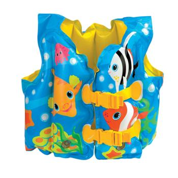 Áo phao intex hình cá cho bé 59661