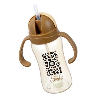 Ly tập uống nhựa PPSU simba 240ml - màu nâu