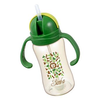 Ly tập uống nhựa PPSU simba 240ml - màu xanh