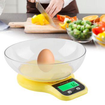 Cân nhà bếp Kitchen Scale WHB 21LW 5Kg - Kèm mâm chứa 1L