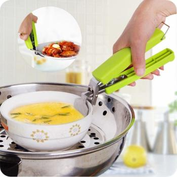 Dụng cụ gắp đồ ăn chống nóng thông minh