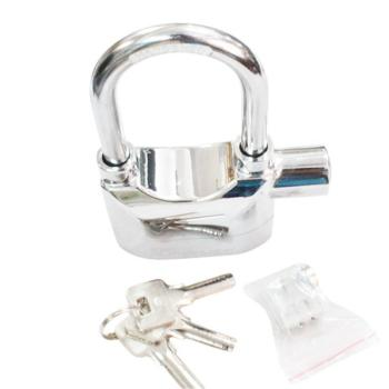 Ổ khóa báo động Kinbar AlarmLock mẫu dài chống cắt - Full Silver