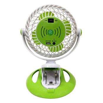 Quạt Sạc USB Mini Đa Năng Comet CRF0206 3W (Xanh Lá) - Hàng Chính Hãng