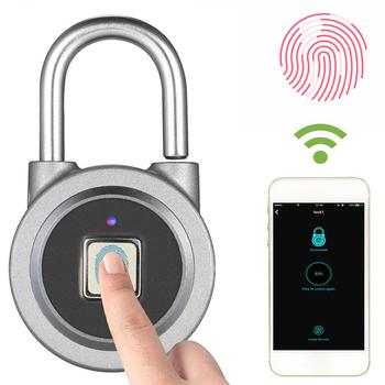 Ổ khóa thông minh vân tay K65 bluetooth wifi - Điều khiển từ xa qua phone