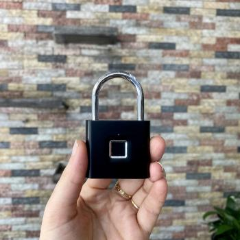 Ổ Khóa vân tay 608 chống thấm nước IP65 khóa cửa hành lý tiện lợi