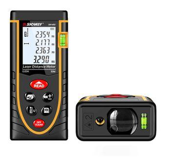 Máy đo khoảng cách bằng tia laser cầm tay SNDWay M50 (50 mét)
