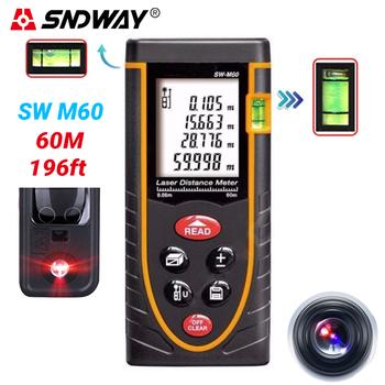 Máy laser đo khoảng cách cầm tay M60 - SNDWay SW 60M chính hãng