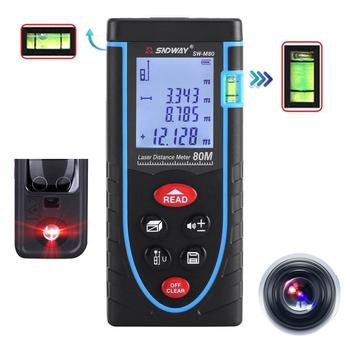 Máy laser đo khoảng cách cầm tay M80 - SNDWay SW 80M chính hãng