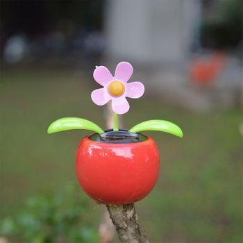Hoa lúc lắc năng lượng mặt trời