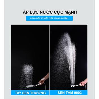 Bộ vòi sen tắm tăng áp JIKAS 9003