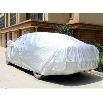 Bạt trùm cho xe ô tô 7 chỗ có lớp phản quang bạc chống thời tiết khắc nghiệt