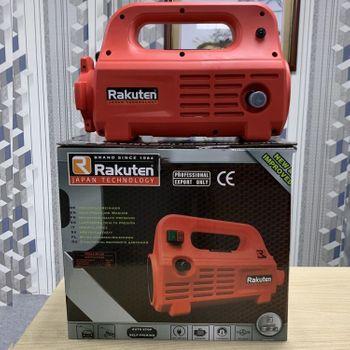 Bơm rửa xe tăng áp Rakuten 2300W - 120 Bar 7L/Phút kèm bình bọt tuyết