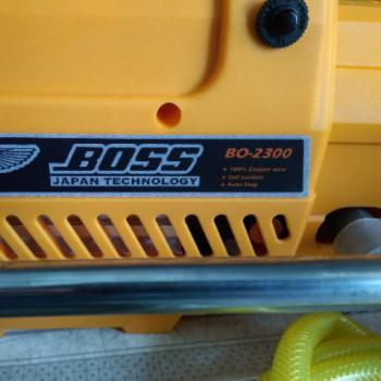 Máy xịt rửa xe áp lực cao BOSS 2300W - Tặng kèm bình tạo bọt tuyết