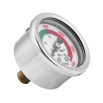 Đồng hồ đo áp lực nước chuyên cho máy rửa xe QD180 chân ngắn