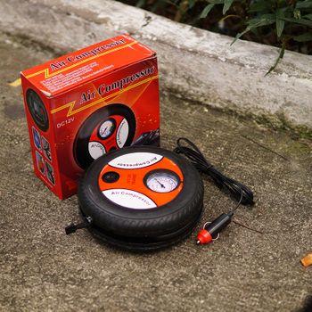 Máy Bơm xe ô tô 12V Mini Air Compressor - Sạc điện tẩu mồi thuốc