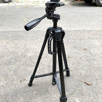 Chân giá đỡ Tripod 3366 cao 150cm chụp ảnh quay phim - Hàng nhập khẩu
