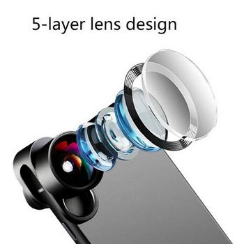 Lens Marco Chụp Cận Cảnh Và Góc Rộng Fancytoy - Zoom Chụp Ảnh 180° Ống Kính Mắt Cá 120°