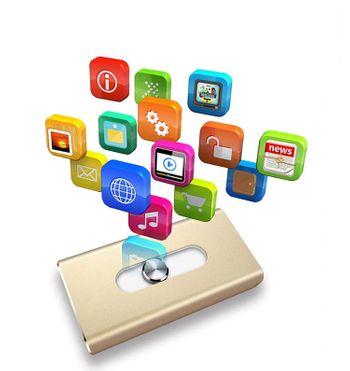 USB mở rộng bộ nhớ Iphone 32GB