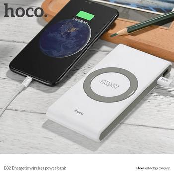 Pin dự phòng hỗ trợ sạc không dây Hoco B32 8000 MAh