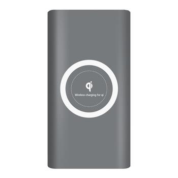 Pin dự phòng kiêm sạc không dây Qi 10.000MAH