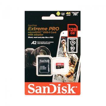 Thẻ nhớ Micro SDHC Extreme Pro 128GB Hỗ trợ quay phim 4K Flycam Camera hành trình