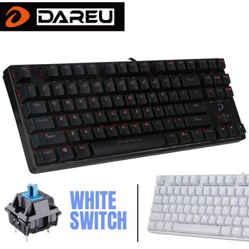 Bàn phím cơ DareU DK87 Blue Switch - Layout 87 keycab không Number