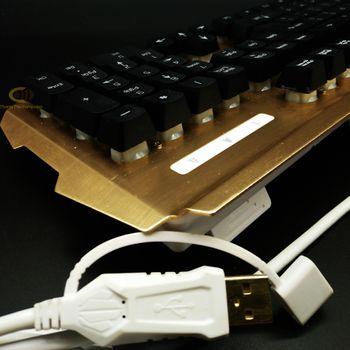 Bàn phím giả cơ Rdrags R500 đèn Led 7 màu