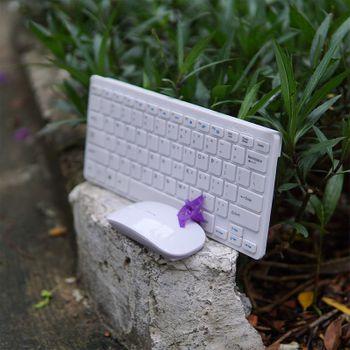 Bàn phím kèm chuột Apple Mini T725 mẫu TKL không phím số