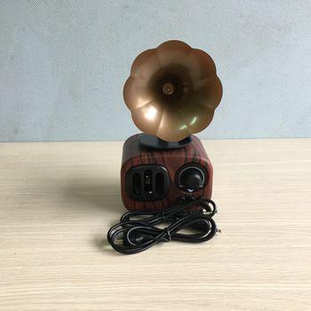 Loa bluetooth cổ điển AS90 bằng gỗ - cao cấp âm thanh ấn tượng