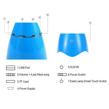 Loa bluetooth kiêm đèn Led để bàn BB11