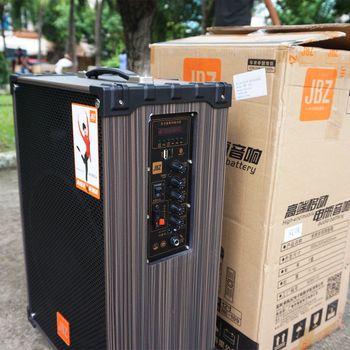 Loa kéo di động JBZ NE 109 tặng kèm 2 micro không dây