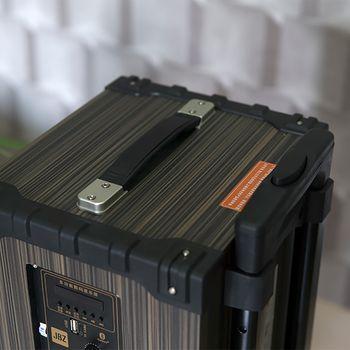 Loa vali kéo di động JBZ NE108 2.5 tấc tặng mic không dây