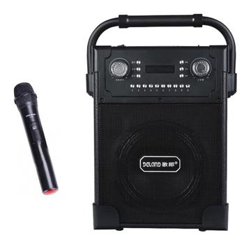 Loa xách tay karaoke di động Daile S19 - Tặng kèm 1 micro không dây