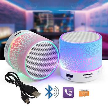 Loa Bluetooth S10 giá hủy diệt - Đèn led 7 màu ấn tượng