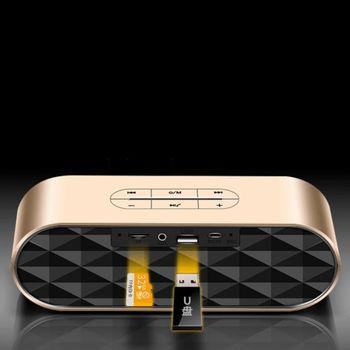Loa Bluetooth Keling F4 chính hãng -  Kim loại cực kỳ sang trọng