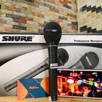 Micro có dây Shure 959 hát kraoke cực hay chính hãng