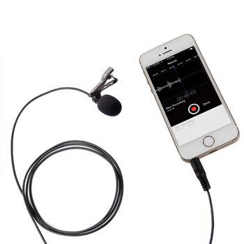 Mic thu âm BOYA BY LM10 cho điện thoại và máy tính bảng