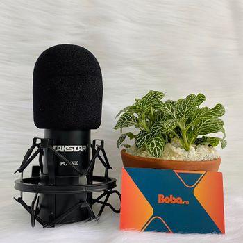 Mic thu âm chuyên nghiệp Takstar PC K500 - Tặng kèm nguồn 48V và 2 dây XLR