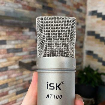 Mic thu âm ISK AT100 Hoa Vinh sử dụng - Micro đơn