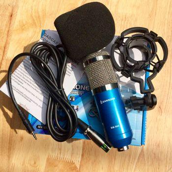 Micro thu âm chuyên nghiệp BM900 - Đơn chỉ micro