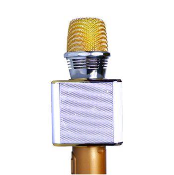 Mic Karaoke Kiêm Loa Bluetooth ZanSong Z09L - Có tích hợp led
