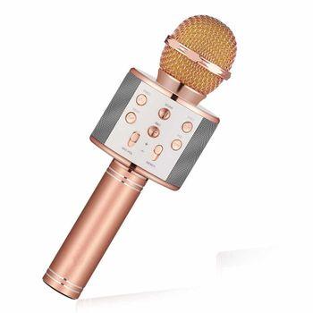 Mic Karaoke Kiêm Loa Bluetooth WS858 giá rẻ