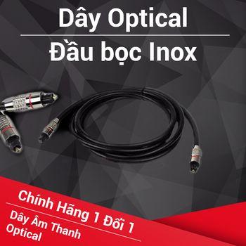 Dây quang Optical ( Inox ) - chống nhiễu cực kỳ tốt