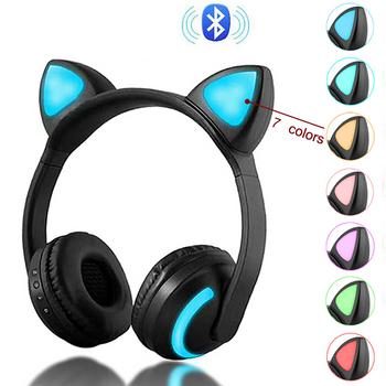 Tai nghe bluetooth tai thỏ ZW-19 có đèn LED