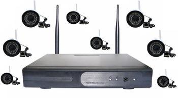 Bộ Kit Camera NVR K960813V - 8 mắt Wifi 1.3Mpx 960P và đầu ghi