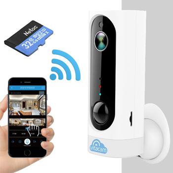 Camera IP Wifi Vitacam BA1080  Full HD1080 tích hợp pin 3000Mah -130 Độ tặng kèm thẻ 32GB