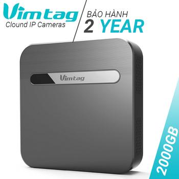 Ổ cứng lưu trữ đám mây Vimtag S1 Cloud Box Wifi - Hỗ trợ HDD 2TB