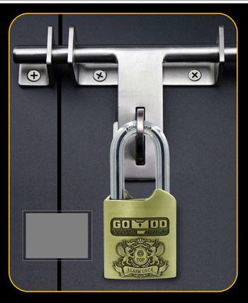 Ổ khóa báo động chống trộm Good Padlock - Chống cắt