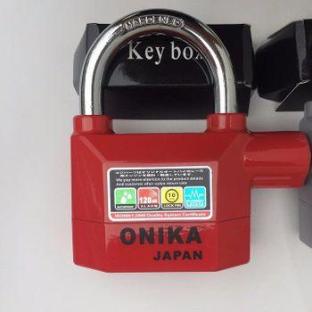 Ổ khóa báo động Onika chính hãng - Chống cắt 70mm